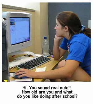 Teen love chat rooms not secret