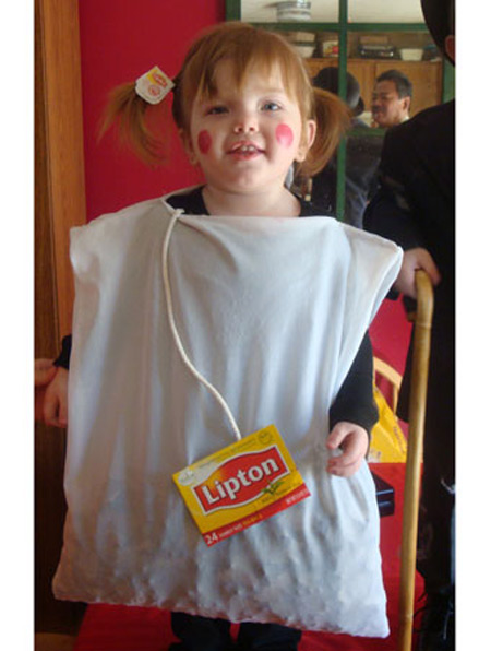 Halloween costume - teabag