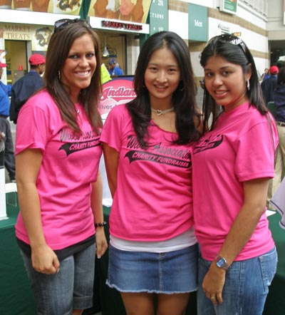 Cleveland Indians Wives Association members