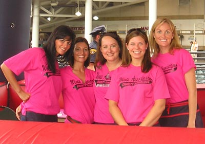Cleveland Indians Wives Alison Pucci, Tatum Borowski, Kate Wedge, Molly Peralta, Abbie Blake