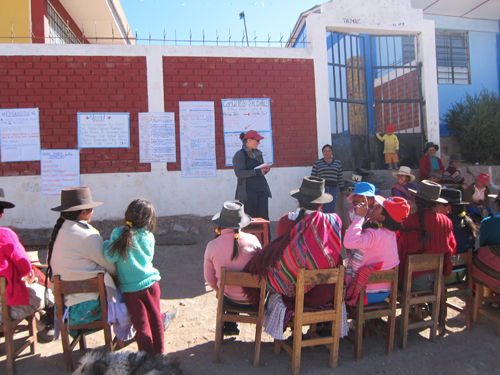 Katie Campbell-Morrison in Peace Corps in Peru