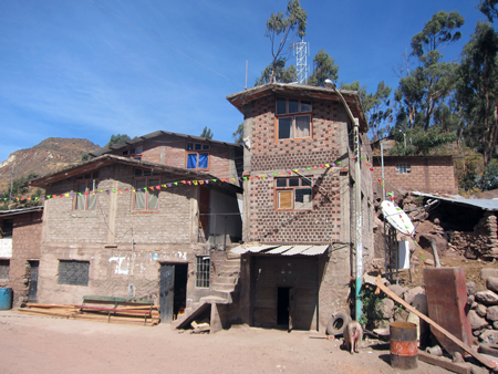 Peruvian village