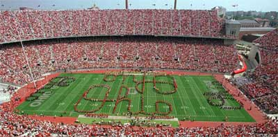 Ohio State Marching Band Script Ohio