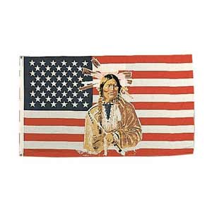 American Indian - Native American Flag
