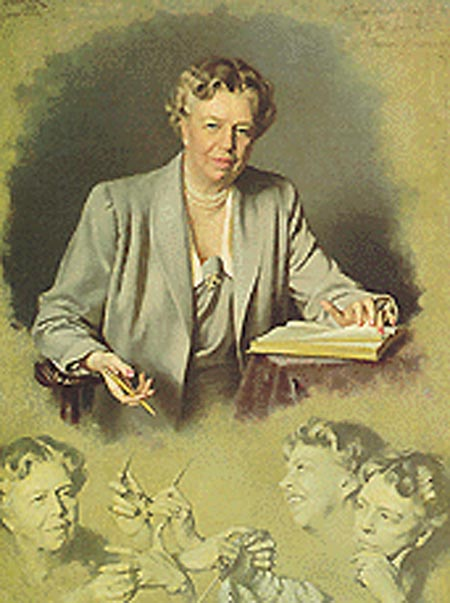 Eleanor Roosevelt White House portrait