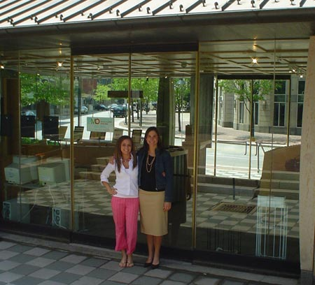 Zolio partners (and best friends) Julie Fink and Andria Trivisonno