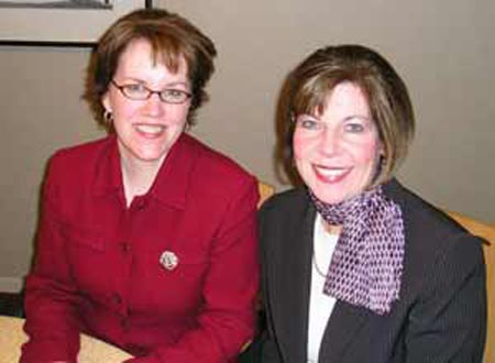 Barb Brown and Margie Flynn of Brown-Flynn