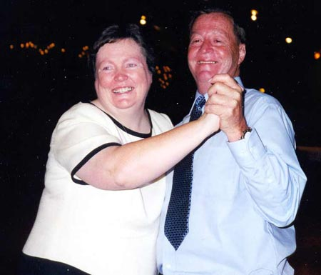 Sister Maureen Burke Dancing with brother Tom Burke