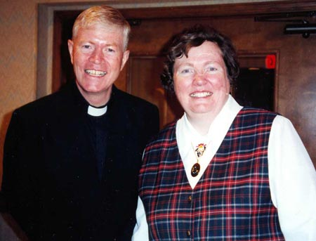 Father Sean Burke and Sister Maureen Burke