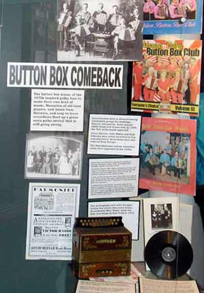 Button Box at the Polka Hall of Fame