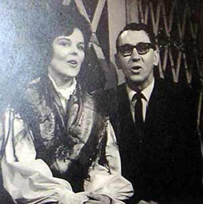 Cecilia Dolgan sings a duet with Tony Vadnal on Polka Variety in 1968