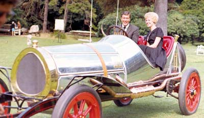 Jenny Crimm with Dick Van Dyke in Chitty Chitty Bang Bang