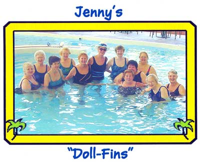 Jenny Crimm and her DollFins