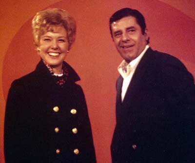 Jenny Crimm with Jerry Lewis