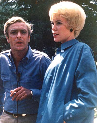 Jenny Crimm with Michael Caine