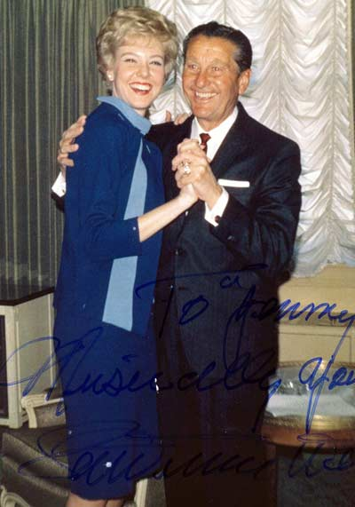 Jenny Crimm with Lawrence Welk