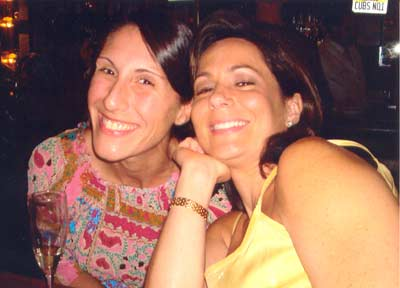 Danielle Serino with dear Chicago friend Lisa