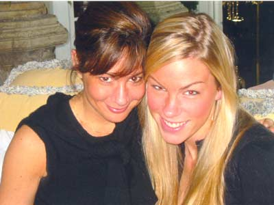 Danielle Serino with stepbrother's fiance Molly