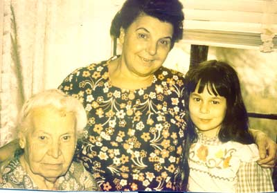 Danielle Serino with Grandmother and Great-Grandmother