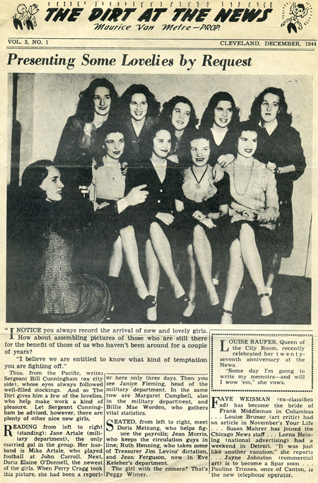 Women reporters were big news in 1944