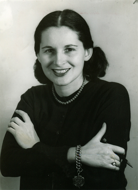 Doris O'Donnell in 1954