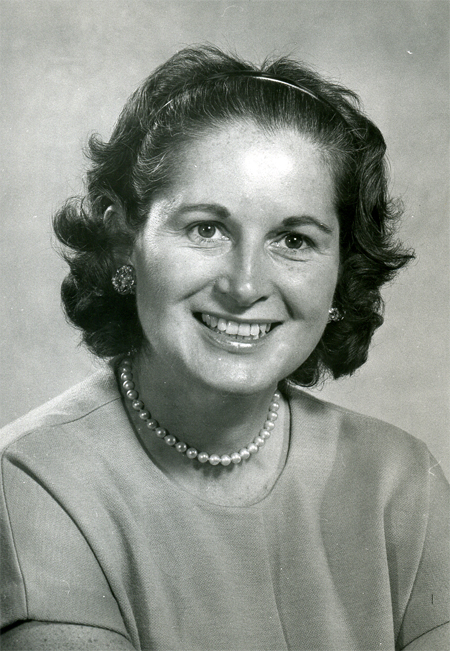 Doris O'Donnell in the 1960's