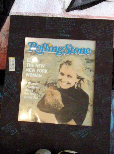 Eliza Wing, on cover of Rolling Stone Magazine