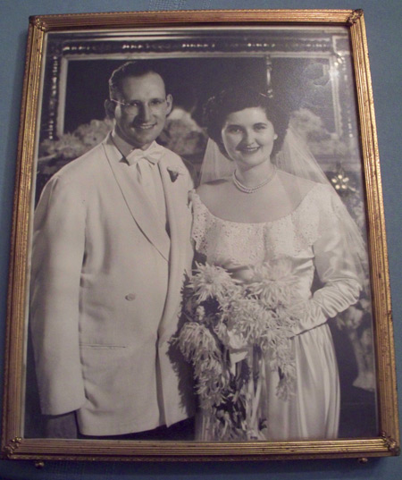 William and Florence Roseman wedding