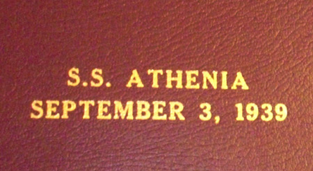 SS Athenia September 3, 1939