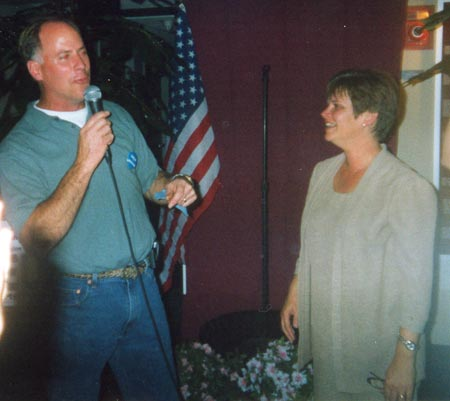 Election Night 2003 - Carter and Georgine Welo