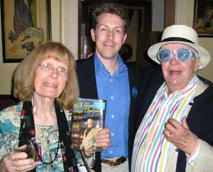 Helga Sandburg with David Gray and Richard Gildenmeister
