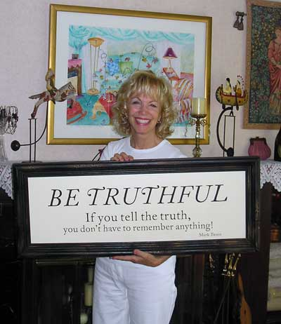 Jan Jones at home in 2007