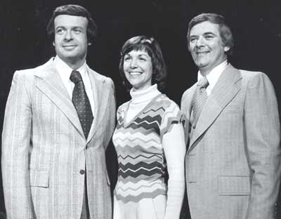 Mike Keene, Jan Jones and Dave Buckel in 1976
