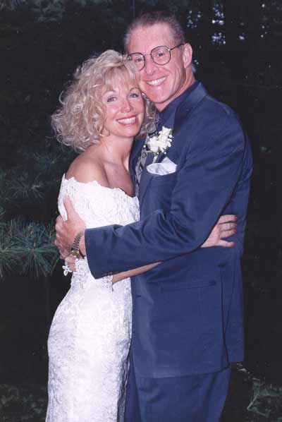 Jan Jones and Dr. Sheldon Artz wedding in 1993