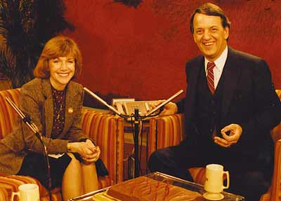 Jan Jones and Fred Griffith on Morning Exchange set in 1980