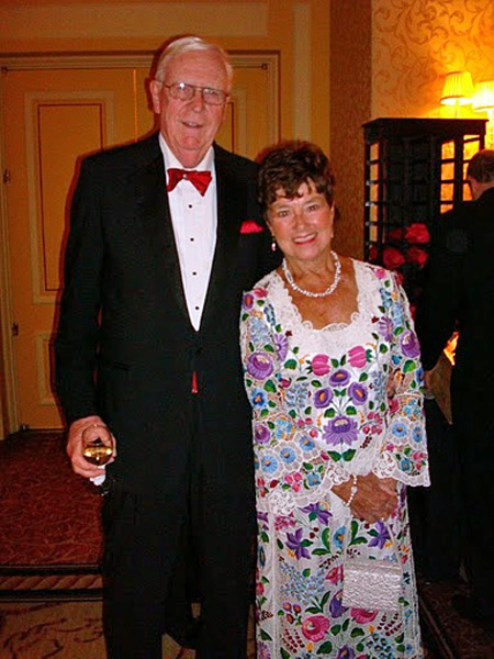 Glenn and Jenny Brown at the 2010 Paprika Ball
