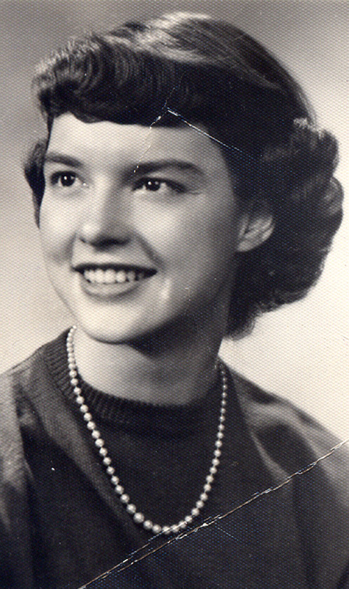Jeanette Gecsy (Jenny Brown) graduation from Ohio University in 1950