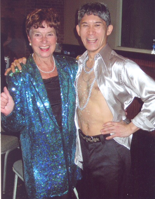 Jenny Brown and David Shimotakhas at 2010's dancing with Celebrities