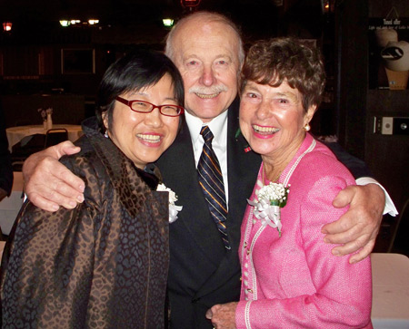 Margaret Wong, August Pust and Jenny Brown
