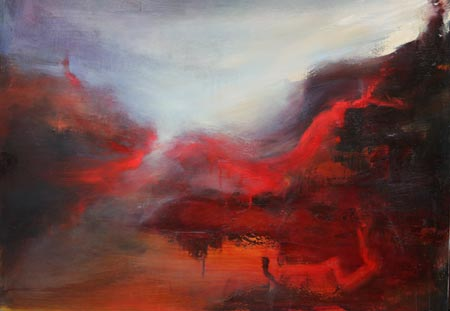 Lissa Bockrath Painting - Atmospheric Encounter