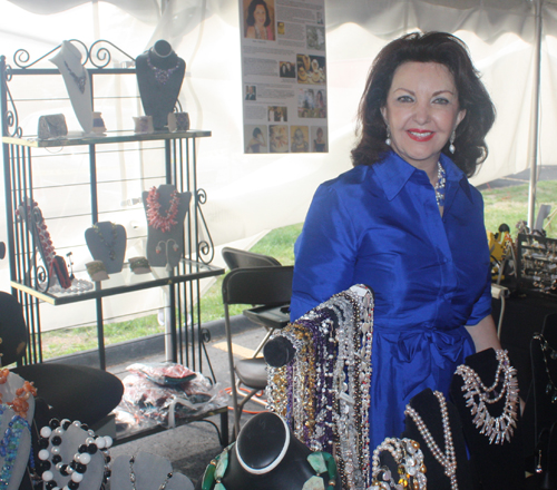Marise Jewelry at St Elias Festival in Cleveland September 2012
