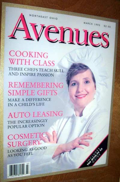 Loretta Paganini on cover of Avenues Magazine