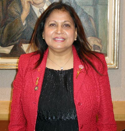 Rita Singh at the City Club in 2008