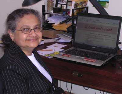Sarojini Roji Rao at work