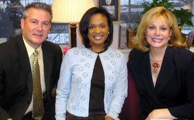 Fox 8 Anchors Bill Martin, Stacey Bell and Wilma Smith