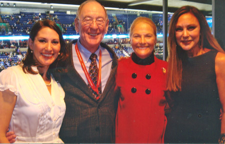 Tonia Kwiatkowski, Hayes Jenkins, Carol Heiss Jenkins and Peggy Fleming in 2010