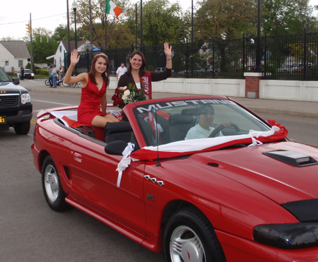 Tonia Kwiatkowski was grand marshall of the May 2010 Polish Constitiution Day Parade in Cleveland
