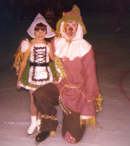 Tonia Kwiatkowski - First Ice Show at age 6 in 1977