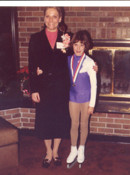 Carol Heiss Jenkins and Tonia Kwiatkowski in 1980