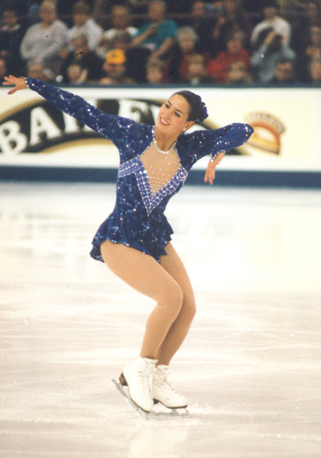 Tonia Kwiatkowski in the 1996 Worlds